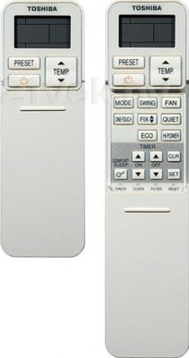 Сплит-система Toshiba RAS-10N3KVR-E/RAS-10N3AVR-E - пульты д/у