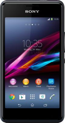 Смартфон Sony Xperia E1 Dual / D2105 (черный) - общий вид