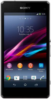 Смартфон Sony Xperia Z1 Compact / D5503 (черный) - общий вид