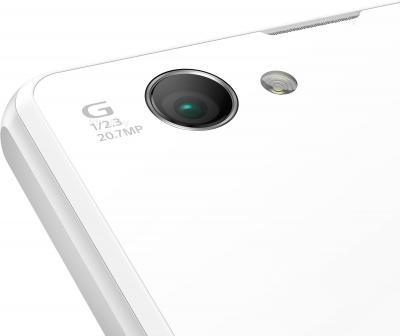 Смартфон Sony Xperia Z1 Compact / D5503 (белый) - камера