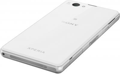 Смартфон Sony Xperia Z1 Compact / D5503 (белый) - вид лежа