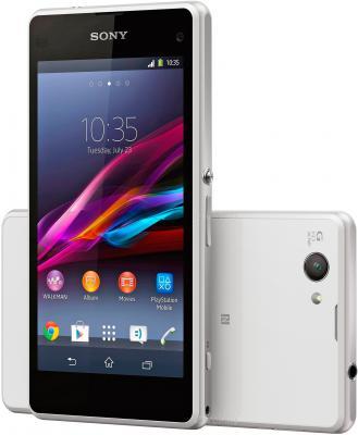 Смартфон Sony Xperia Z1 Compact / D5503 (белый) - передняя и задняя панели