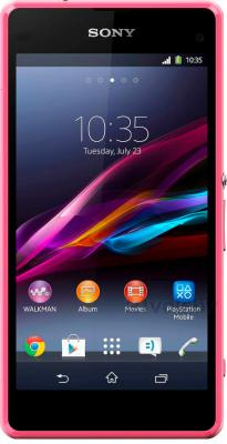 Смартфон Sony Xperia Z1 Compact / D5503 (розовый) - общий вид