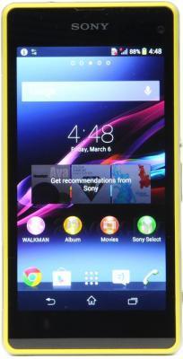 Смартфон Sony Xperia Z1 Compact / D5503 (лайм) - общий вид