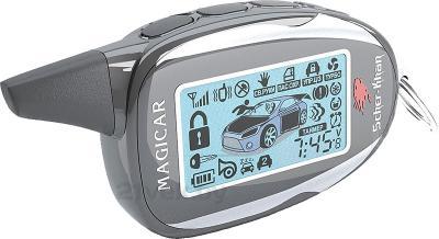 Автосигнализация Scher-Khan Magicar 11 (с сиреной) - общий вид
