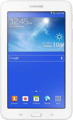 Планшет Samsung Galaxy Tab 3 Lite SM-T110 (8Gb, White) - общий вид