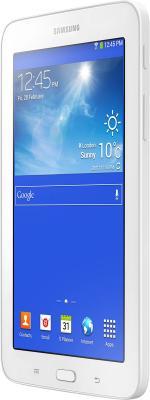 Планшет Samsung Galaxy Tab 3 Lite SM-T110 (8Gb, White) - вполоборота
