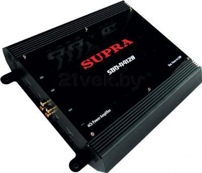 Автомобильный усилитель Supra SBD-A4120 - общий вид