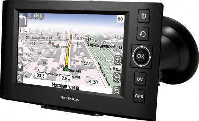 GPS навигатор Supra SNP-437VR - общий вид