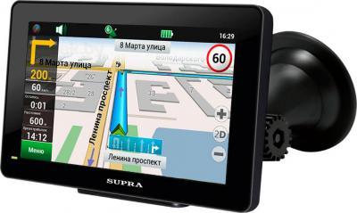 GPS навигатор Supra SNP-500 - общий вид