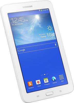 Планшет Samsung Galaxy Tab 3 Lite 8GB 3G / SM-T111 (белый) - под наклоном