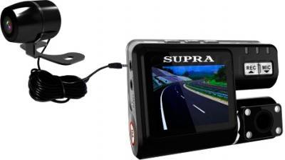 Автомобильный видеорегистратор Supra SCR-810DC - общий вид
