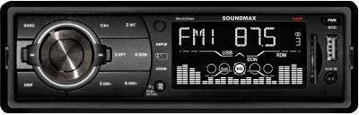 Бездисковая автомагнитола SoundMax SM-CCR3044 - общий вид
