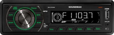 Бездисковая автомагнитола SoundMax SM-CCR3045 - общий вид