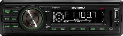 Бездисковая автомагнитола SoundMax SM-CCR3047F - общий вид
