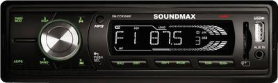 Бездисковая автомагнитола SoundMax SM-CCR3048F - общий вид