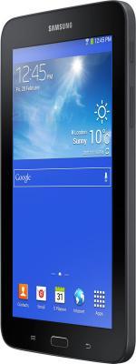 Планшет Samsung Galaxy Tab 3 Lite 8GB 3G / SM-T111 (черный) - вполоборота