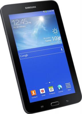 Планшет Samsung Galaxy Tab 3 Lite 8GB 3G / SM-T111 (черный) - под наклоном