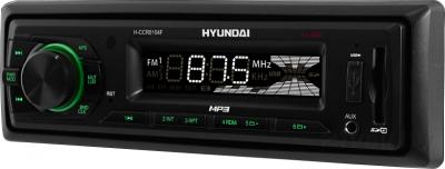 Бездисковая автомагнитола Hyundai H-CCR8104F - общий вид