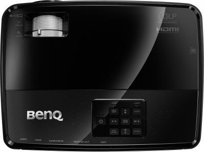 Проектор BenQ MW523 - вид сверху