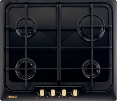 Газовая варочная панель Zanussi ZGG966414C - общий вид