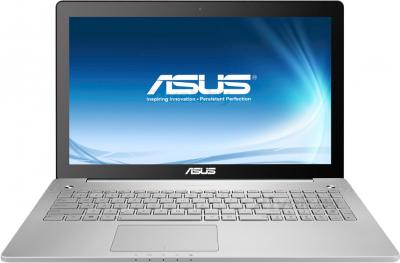 Ноутбук Asus N550JK-CN015D - фронтальный вид