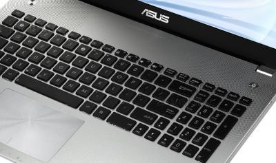 Ноутбук Asus N56JR-CN176D - клавиатура