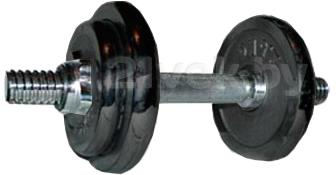 Набор гантелей разборных NoBrand 9kg (обрезиненная) - общий вид
