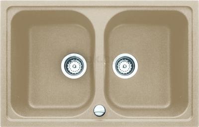 Мойка кухонная Teka Alba 80 B-TG (янтарь) - реальный цвет модели может немного отличаться от цвета, представленного на фото