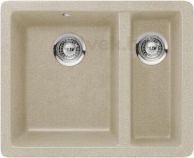 Мойка кухонная Teka Radea 550/370 TG (янтарь) - реальный цвет модели может немного отличаться от цвета, представленного на фото