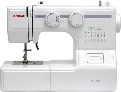 Швейная машина Janome 102 - общий вид