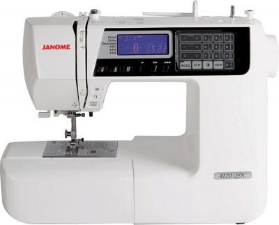 Швейная машина Janome 4120QDC - общий вид