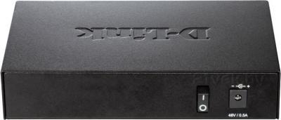 Коммутатор D-Link DES-1005P - вид сзади