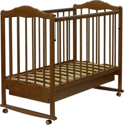Детская кроватка СКВ 231117 (орех) - общий вид
