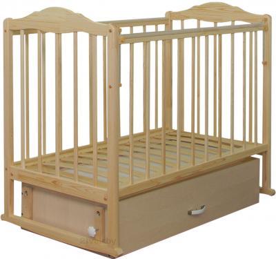 Детская кроватка СКВ 232005 (береза) - общий вид