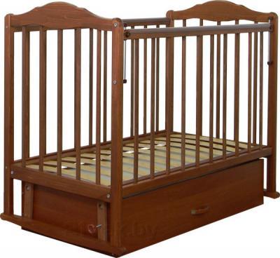 Детская кроватка СКВ 232007 (Орех) - общий вид