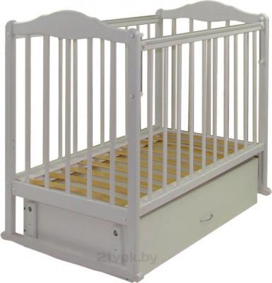 Детская кроватка СКВ 232001 (Белая) - общий вид