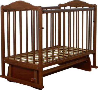 Детская кроватка СКВ 234007 (Орех) - общий вид