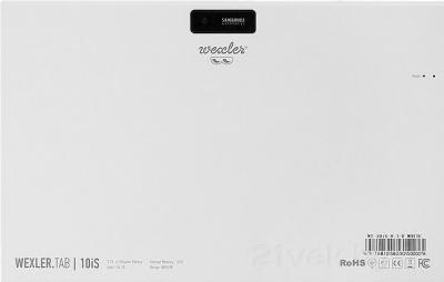 Планшет Wexler TAB 10iS (8Gb, White) - вид сзади