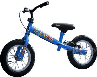Беговел Eurobike Zoo-15 (12, синий) - общий вид