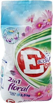 Стиральный порошок E Active Plus 2 in 1 Floral (2.5кг) - общий вид