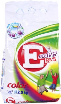 Стиральный порошок E Active Plus Color (2.5кг) - общий вид