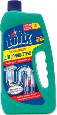 Средство для устранения засоров Tofix Чистящее средство для сливных труб (1л) - общий вид