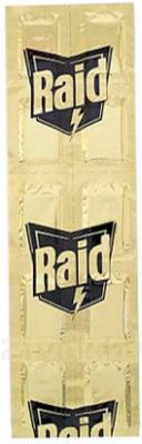 Наполнитель для фумигатора Raid Пластины против комаров (10шт) - общий вид