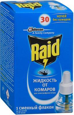 Наполнитель для фумигатора Raid Жидкость против комаров 30 ночей - общий вид