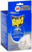 Электрофумигатор Raid Против мух и комаров (+ сменный блок) -
