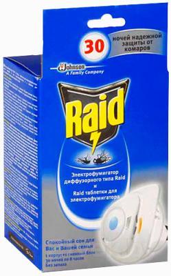 Электрофумигатор Raid Против мух и комаров (+ сменный блок) - общий вид