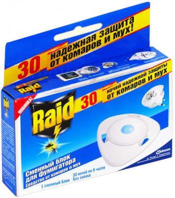 Наполнитель для фумигатора Raid Cменный блок против мух и комаров - общий вид