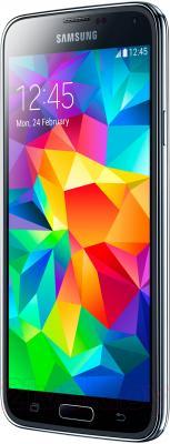Смартфон Samsung Galaxy S5 G900H (16GB, Black) - вполоборота