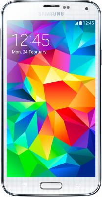 Смартфон Samsung Galaxy S5 G900H (16GB, White) - общий вид